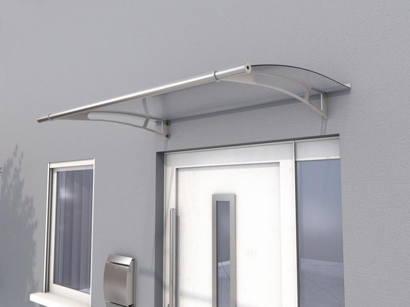 Haustürvordach Pultvordach PT/L (W) 190 x 95 x 17 cm