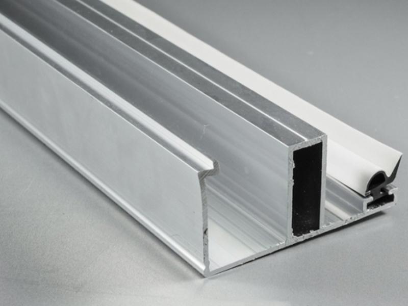 Alu-Randdeckprofil 3500 mm für 16er Stegplattenstärke