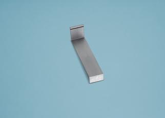 Alu-Wandanschluss Verbindungsstück für Alu-Wandanschluss 115 mm x 25 mm Kunststoff silber / grau