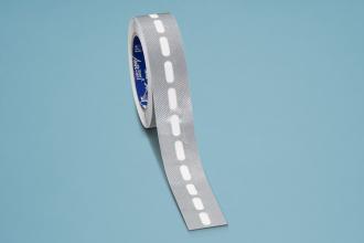 Kantenverschlussband silber á 7,5 Meter selbstklebend mit Membrane für 10er Stegplatten