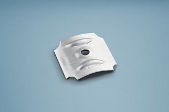 Kalotten Aluminium Sinus für Profil 177/51, P6 Set á 100 Stück