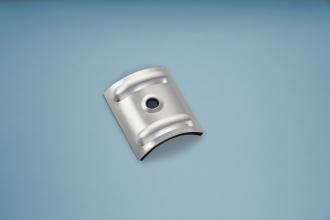 Kalotten Aluminium Sinus für Profil 76/18 Set á 20 Stück