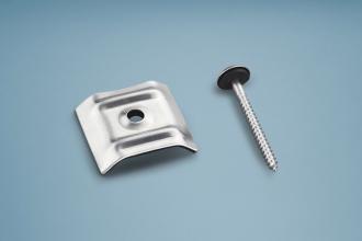 Kalotten Aluminium Trapez für Profile 76/18 & 70/18 Set á 20 Stück