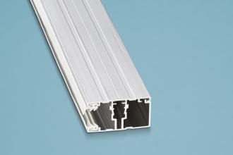 Randschraubprofil (Ober-& Unterprofil) 3500 mm Alu für 16er Stegplattenstärke
