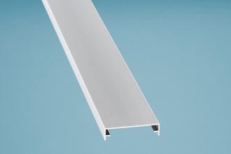 Zierklemmdeckel Aluminium eloxiert 7000 mm