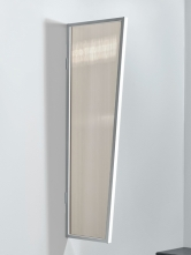 Seitenblende 200x60/45 cm Weiß