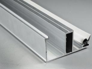 Alu-Randdeckprofil 2000 mm für 16er Stegplattenstärke