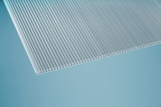 10 mm Stegplatten -Simple- klar 1050x2000 mm Polycarbonat
