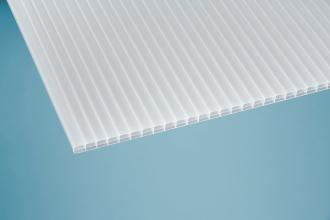 16 mm Stegplatte -Robust- opal/weiß 980x2000 mm Polycarbonat
