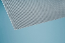 6,5 mm Stegplatten -Simple- klar 1050x2000 mm Polycarbonat
