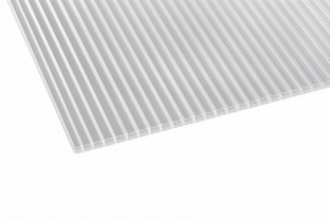 Doppelstegplatten ECO klar 16 mm Polycarbonat 980x2000 mm Preis je m2