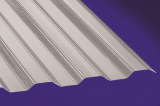 Profilplatte -Thermic- Trapez 76/18 grau Polycarbonat 1040x2500 mm