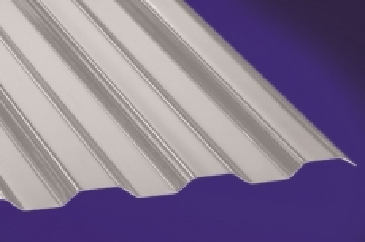 Profilplatte -Thermic- Trapez 76/18 grau Polycarbonat 1040x4000 mm