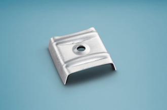 Kalotten Aluminium Trapez für Profil 207/35 Set á 100 Stück
